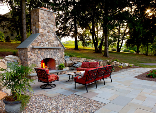 Fireplace, Patio and Outdoor Kitchen Project
