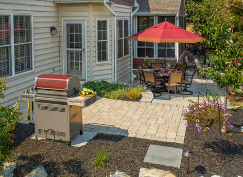 Backyard Patio and Landscaping Project