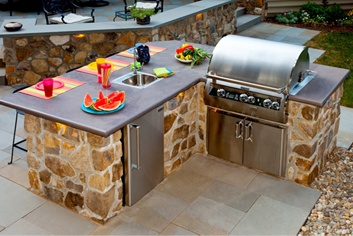 Outdoor kitchen contractors in Lancaster, PA