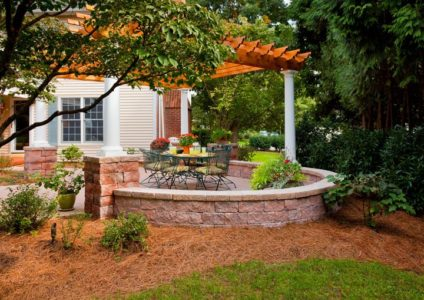 Backyard Pergola and Patio Area in Lancaster, PA
