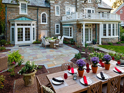 Renovated Old Estate Featuring Multiple Backyard Patio/Entertainment Areas in Lancaster, PA