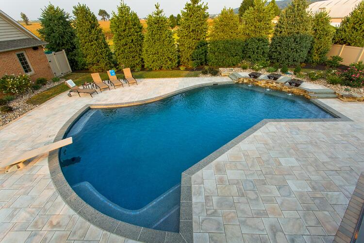 unique pool design in pennsylvania