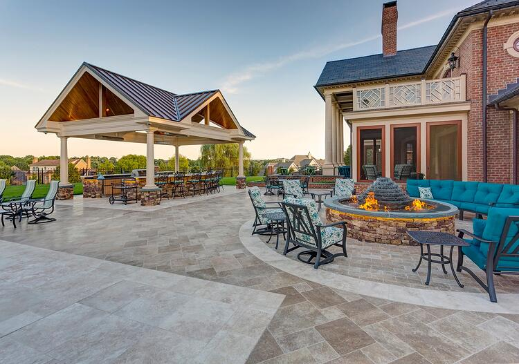 Landscape contractors in York, PA and surrounding areas feature a backyard project.