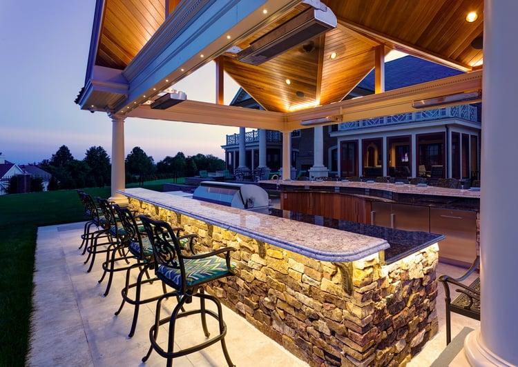 Landscape design case study york pa outdoor kitchen and for Kitchen design york pa