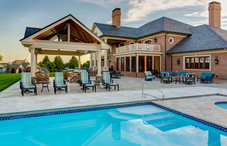 ETW-Taylor-travertine-pool-patio-fire-pit-fountain-outdoor-kitchen-pavilion-11