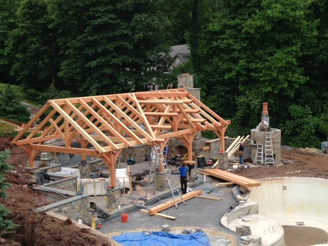 Pergola builders and pavilion companies in Lancaster, PA, York, Reading, and Hershey