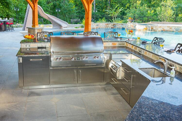 How much does an outdoor kitchen cost in Reading, York, Hershey or Lancaster, PA?