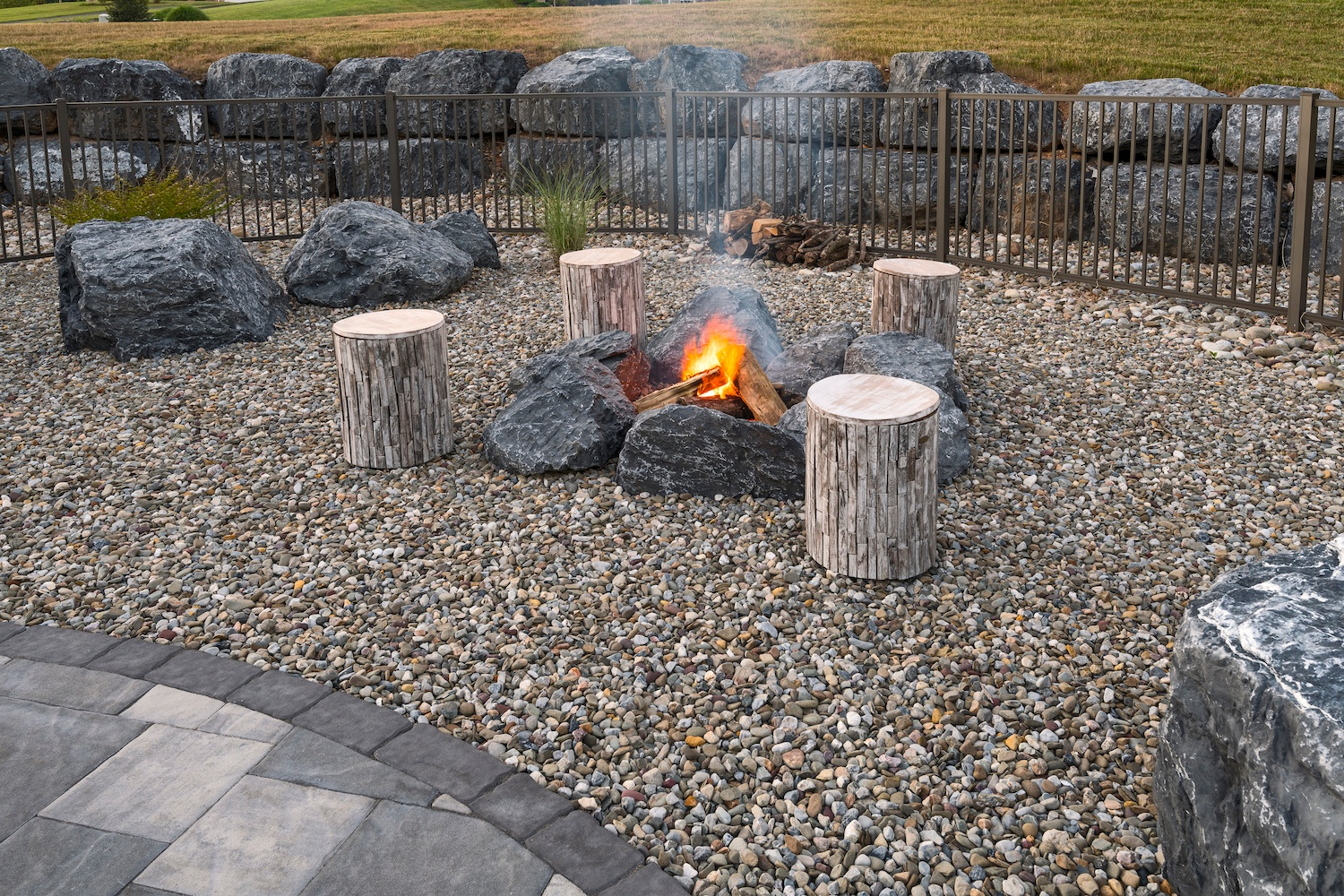 professional fire pit