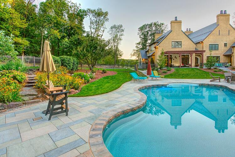 Typical landscape design vs. exceptional creations in Lancaster, PA, Hershey and Reading.
