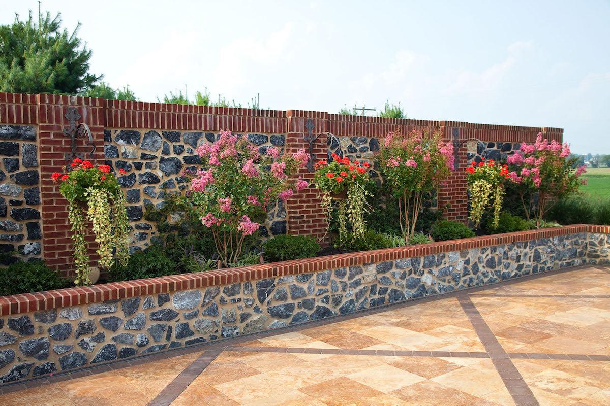 Kreider-stone-wall-planter