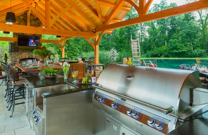 Check Out These Pergola Landscape Pavilion Design Ideas For Your Lancaster,  PA Home. Todayu0027s Outdoor Kitchens ...