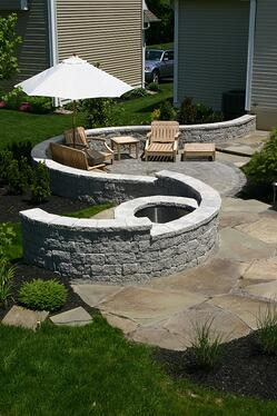 Where to Build a Fire Pit: On the Patio or a Separate Area ...