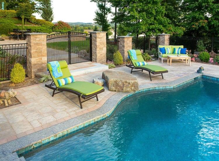 Case study york pa landscaping pool design masterpiece for Landscaping rocks york pa