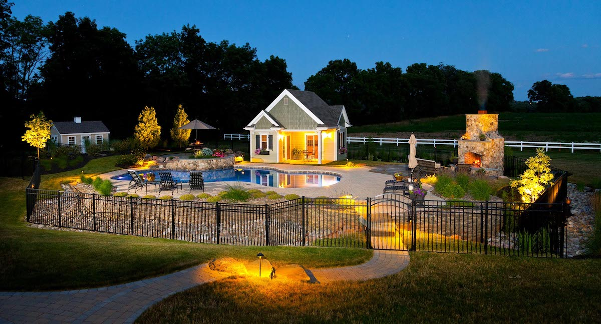 pool and landscape lighting