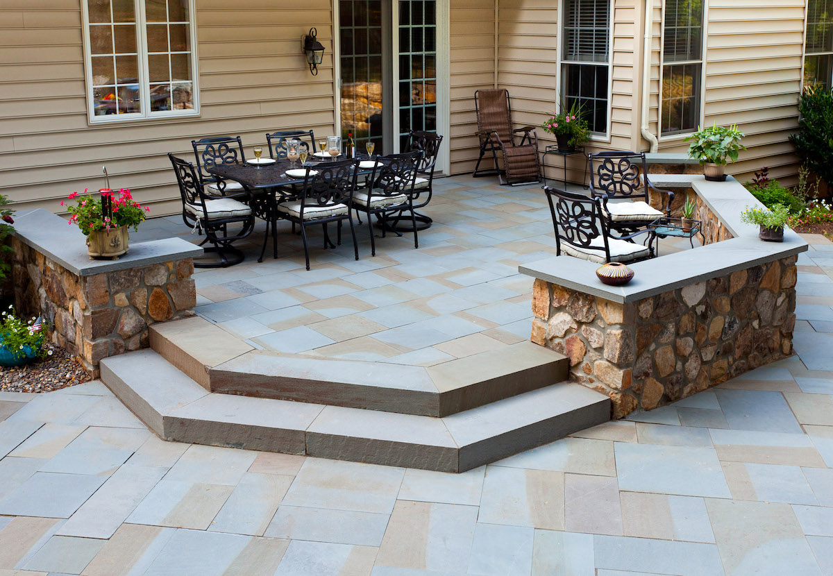 Stamped Concrete Vs. Pavers Vs. Natural Stone: Whatu0027s Best For My  Lancaster, PA Backyard?