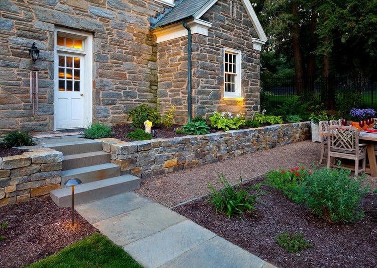 Historic home landscape Lancaster, PA