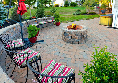 sealing paver patio