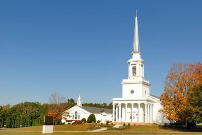 A southern Baptist Church in Georgia.