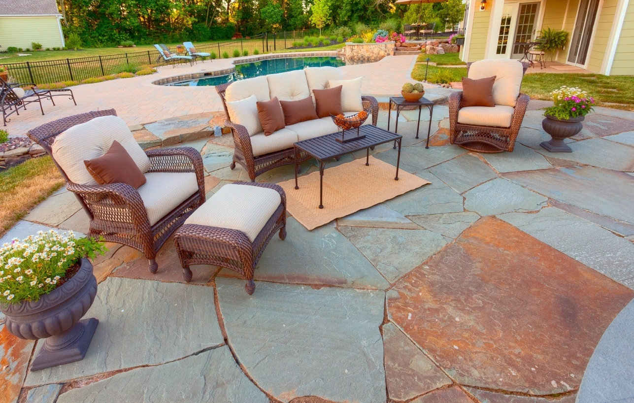 Paver patio cost home design ideas and pictures for Outdoor furniture york pa