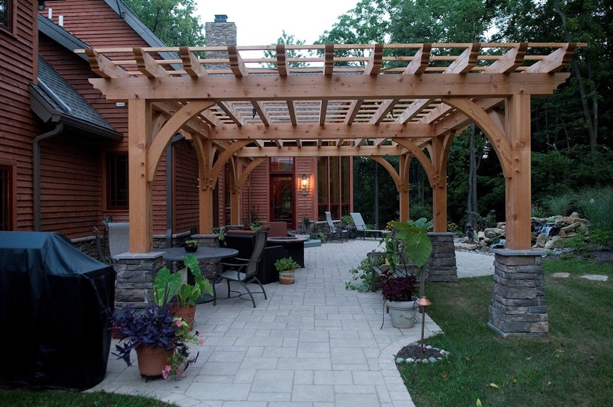 Pergola builders in Lancaster, PA also serving York, Reading, Hershey, and Lebanon.