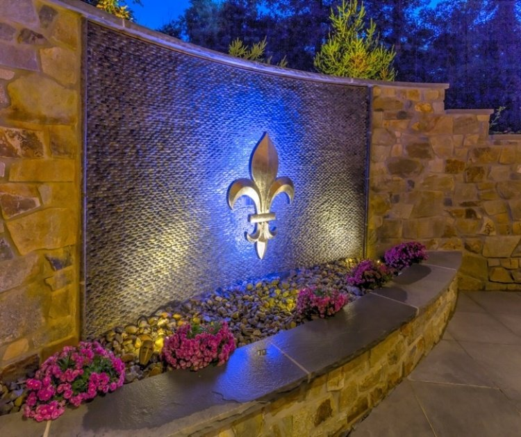 Hardscaping and landscape design in Reading, PA featured in EP Henry Catalog.