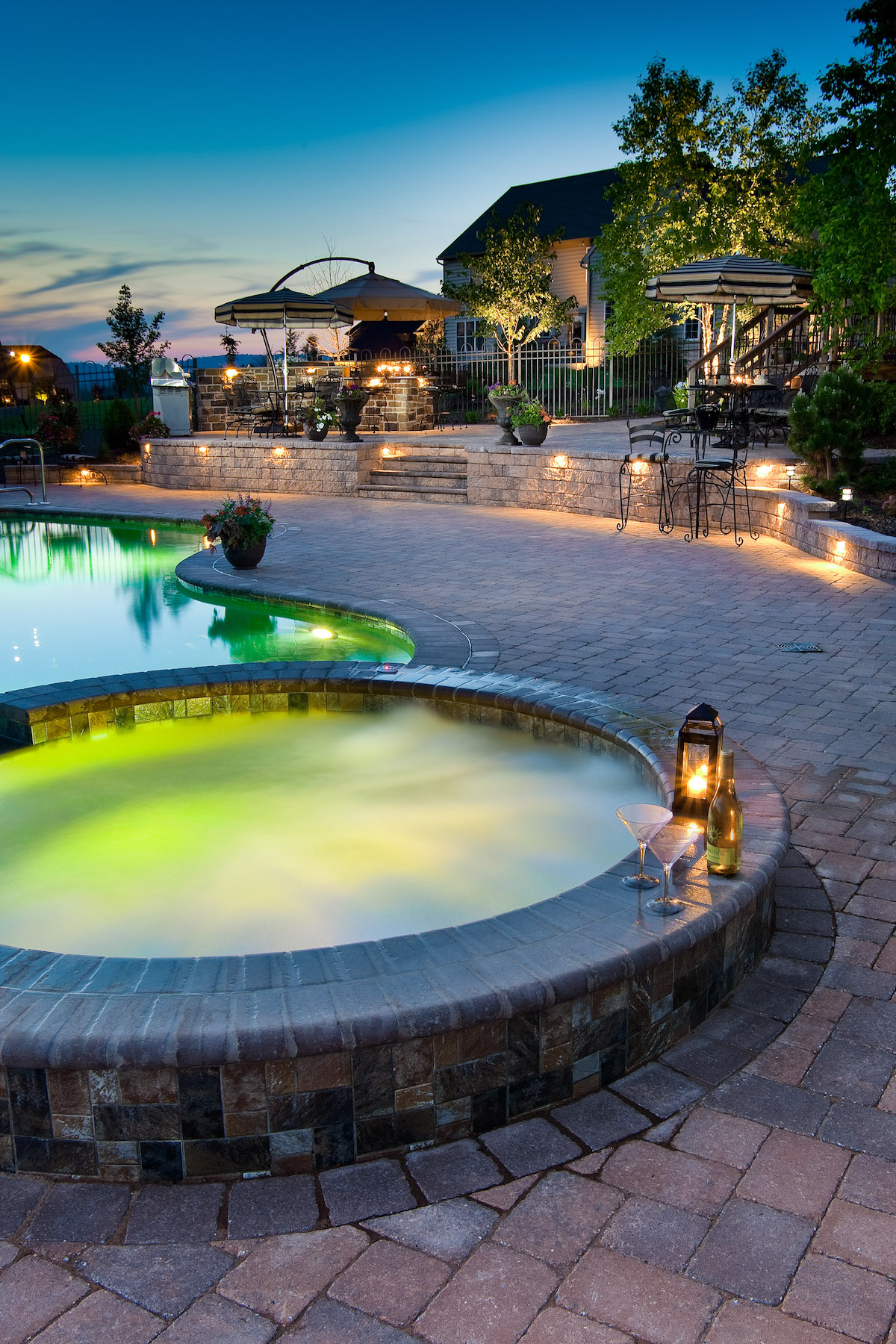 Hot Tubs or a Hot Mess? Incorporating a Spa into Your Landscape Design